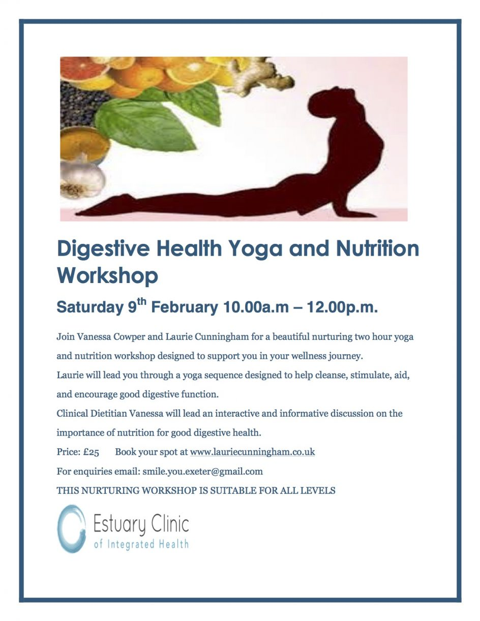 Digestive Health Nutrition Yoga Workshop