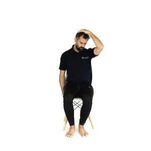 Levator scapular Stretch